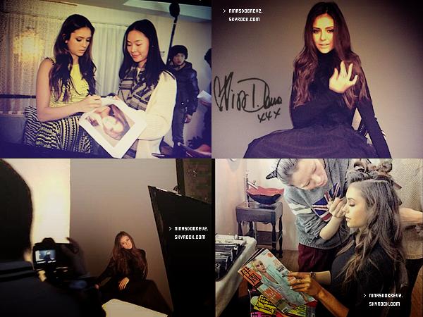 28 Dec.  Nina était au Super Brand Mall où elle à rencontré ses fans .