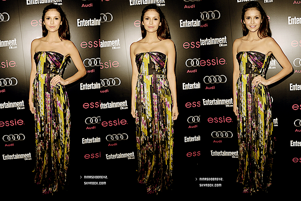 27 Janv.  Nina était au Screen Actors Guild Awards .