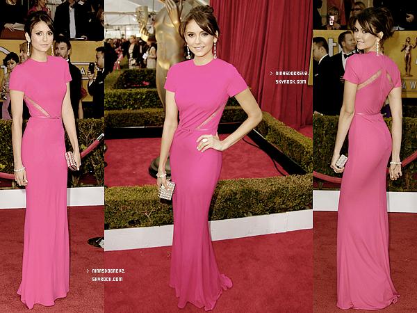 27 Janv. Nina était au Screen Actors Guild Awards .