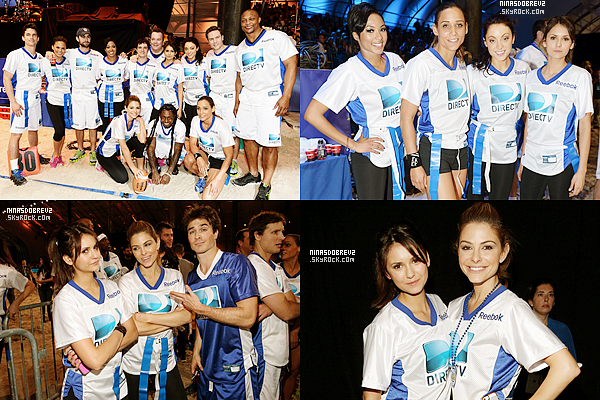 - 2.02.2013 Nina était présente au Celebrity Beach Bowl 2013. -