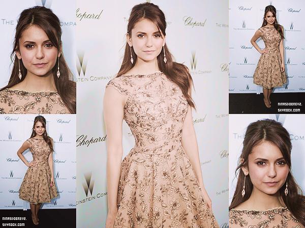 - 23.02.2013 Nina était présente au Film Independent Spirit Awards. Je trouve Nina absolument superbe! Un gros top pour sa tenue. -