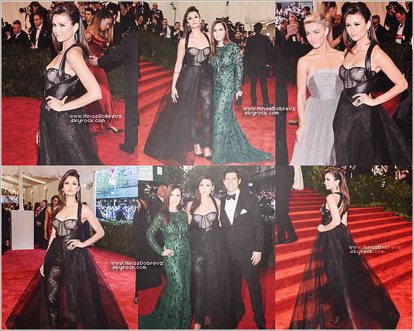 06.05.2013   Nina, sublime au Met Gala à New York.