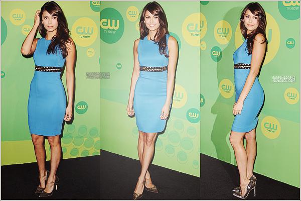 16th May 2013 -Nina était présente à la soirée des CW Uprfonts.