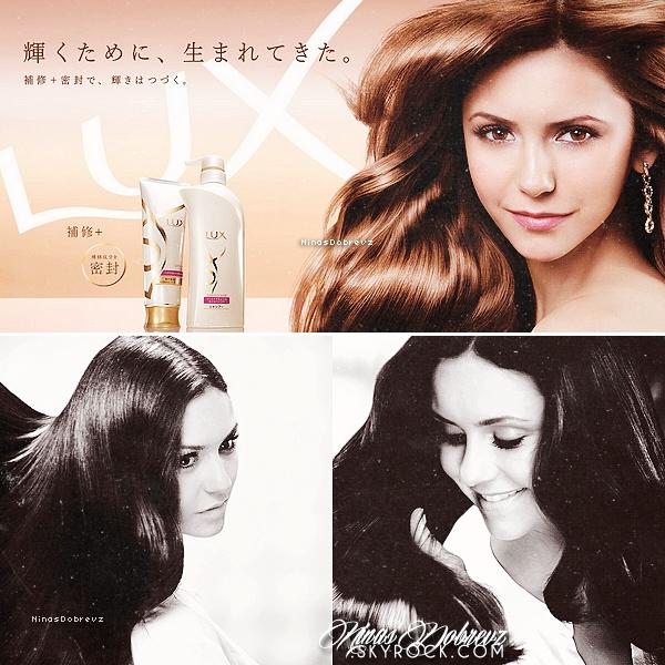 23rd August   ♦ Nina pour la marque Lux.