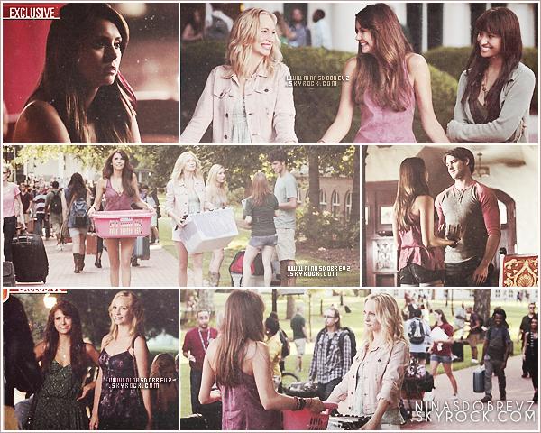 30th August -La promo officielle ainsi que les stills du premier épisode de la saison 5 sont sortit .