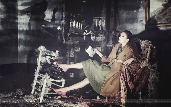 Nina pour Vogue (Chine).
