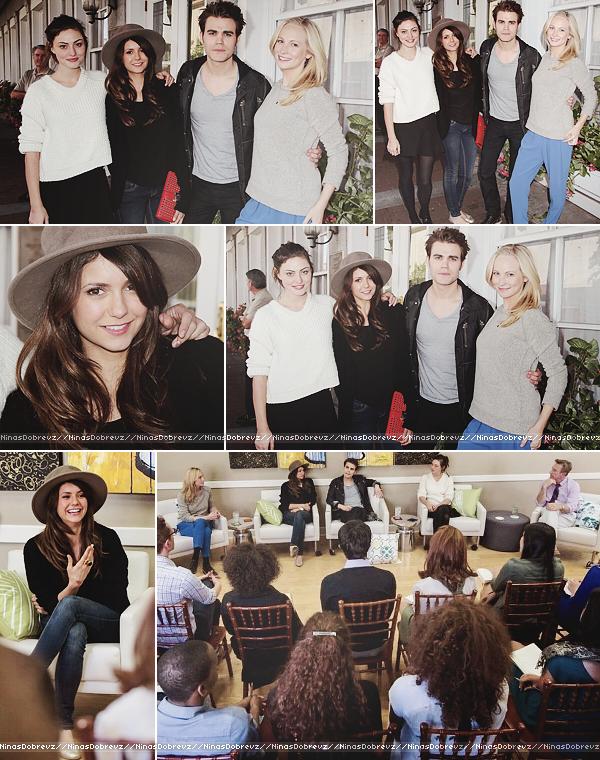 26/10/2013 Nina était présente au 16th Annual Film Festival à Savannah (Géorgie).