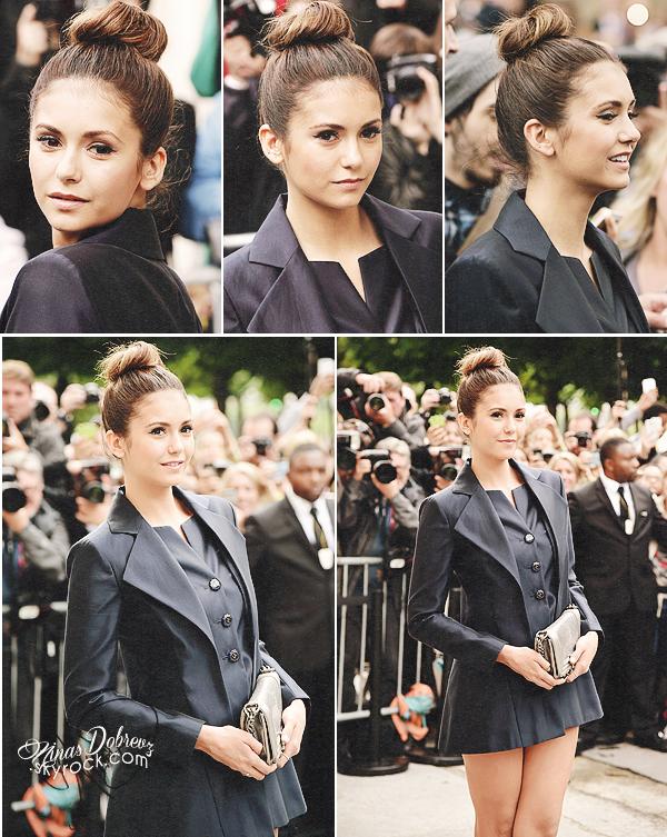 08th July 2014 - Nina s'est rendue à la Fashion Week de Paris pour la marque Chanel.