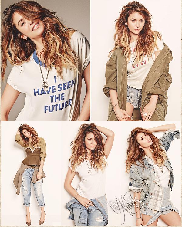 Magazines Scans/Photoshoot - Nina en couverture de NYLON Magazine pour le mois d'Août, ainsi que des photos tiré du photoshoot.