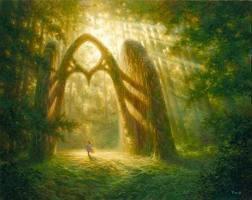 et si tu le pouvais,découvrir un passage dans un autre monde....