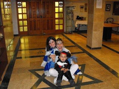 Dina, Yosef & Yo en Purim 5771/2011
