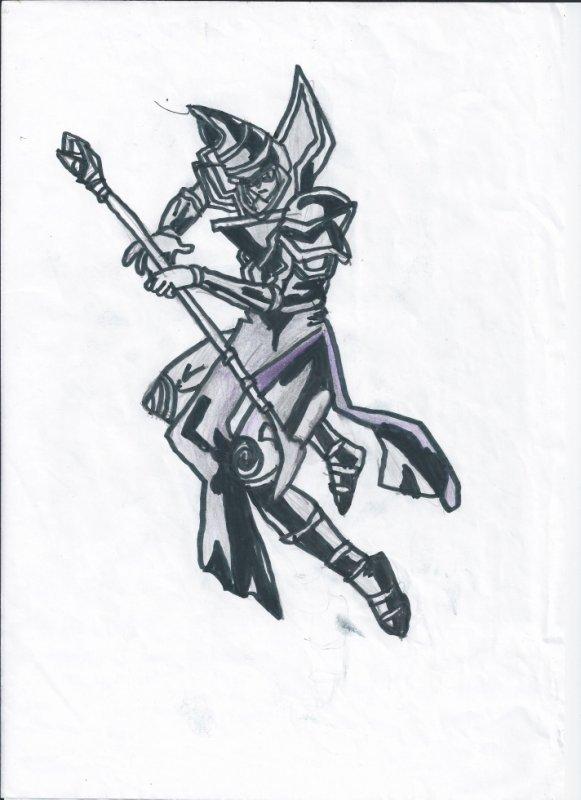 Yu Gi Oh / Le magicien noir