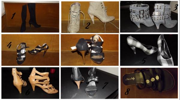 Chaussures d'occasions quasiment jamais porté