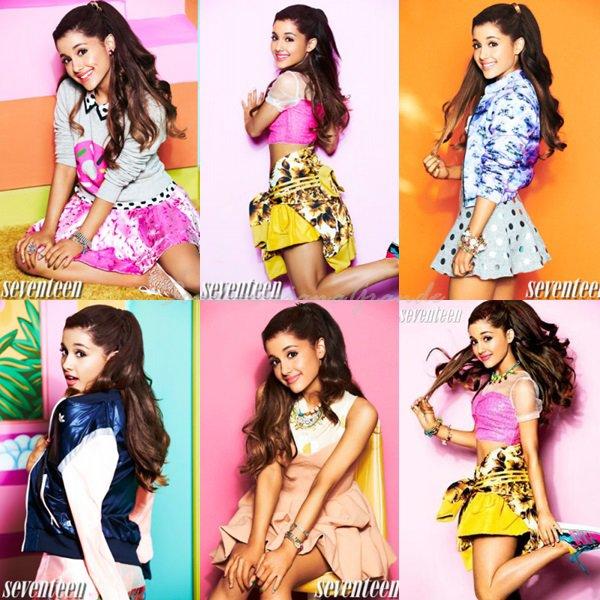 Ariana pour la magazine Seventeen (+) elle seras dans le prochain album de Justin Bieber !