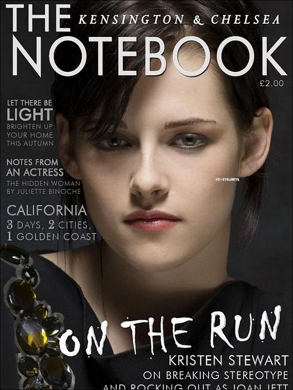 """* Voici les scans du magasine """"The Notebook"""" du mois de Septembre 2010.___ Votre avis ?*"""