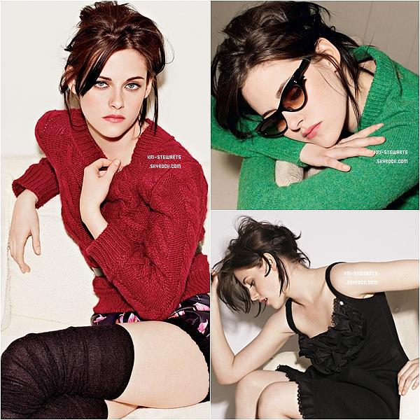 * Voici, pour moi, l'un des  meilleure photoshoot de Kristen jamais réalisé à ce jours. Il est de 2010 et signé par Elle UK.________ Votre avis ?*