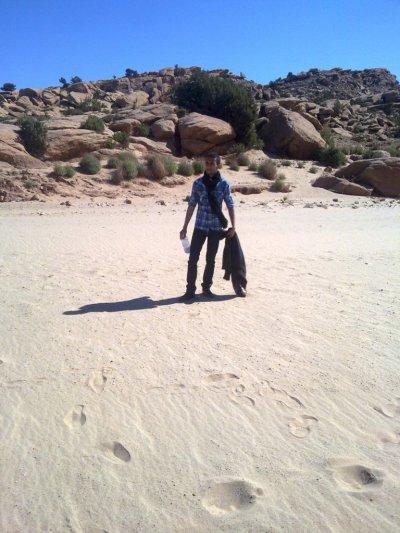 souvenir du sahara