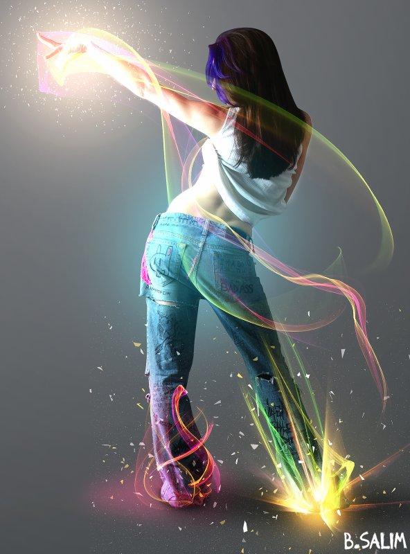 effet de lumière !