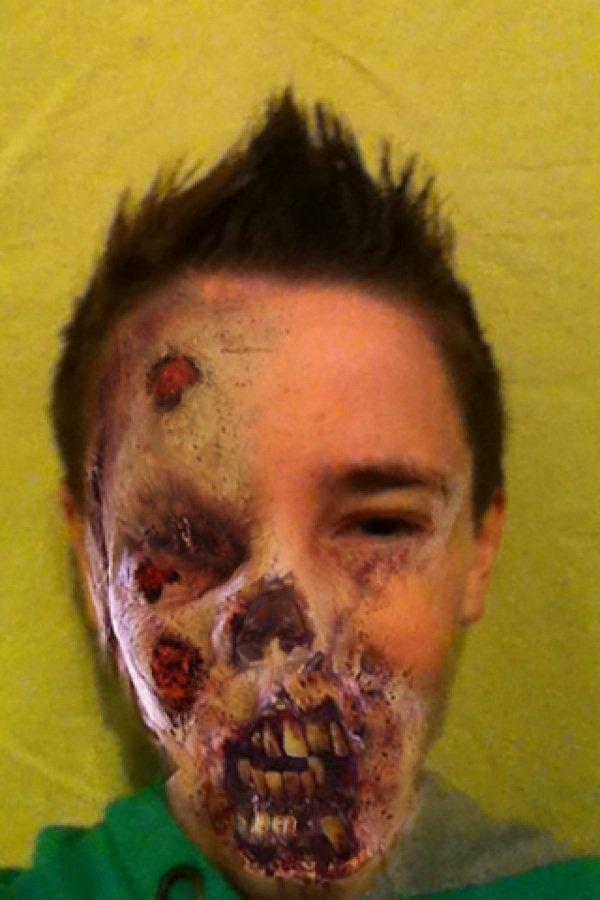 Moi en mode zombie !