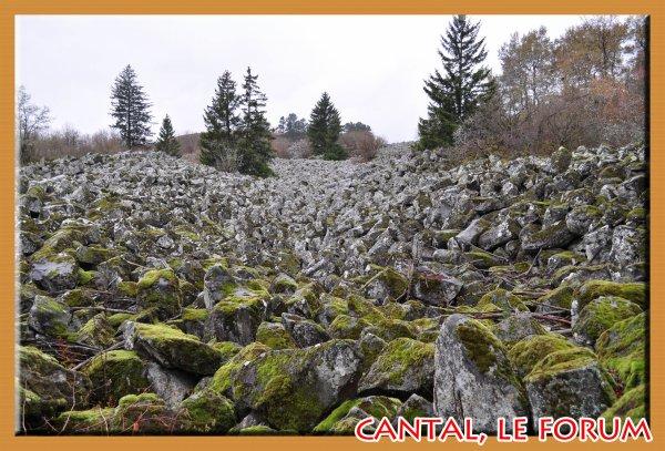 Les roches de Landeyrat