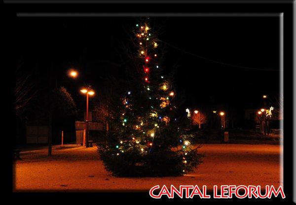Illuminations de Noel à Allanche