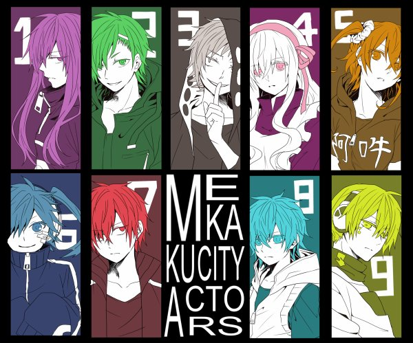 Mekaku City Actors / Kagerô Days