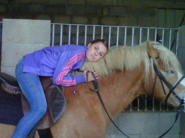 Mon poney & moi <3
