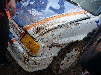ma voiture après la finale