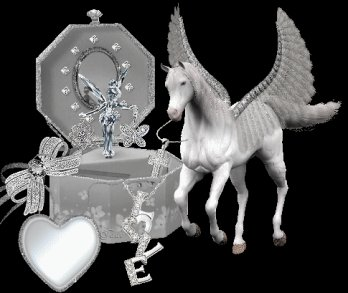 cheval ange