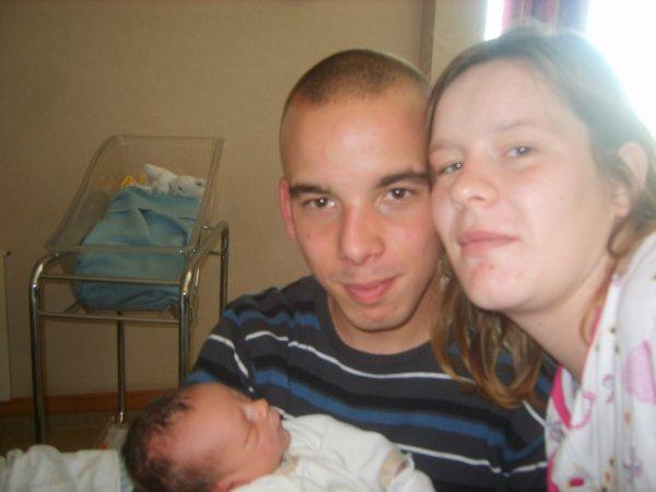 mon fils nathan son papa et moi