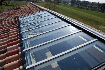 toiture verre tortorello entreprise menuiserie aluminium. Black Bedroom Furniture Sets. Home Design Ideas