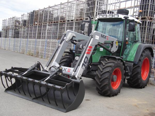 Fendt 310 chargeur mx agriculture et machines agricoles a fond - Tracteur avec fourche ...