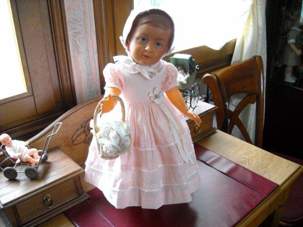 Josette de 47 cms, avec ses vêtements d'origine