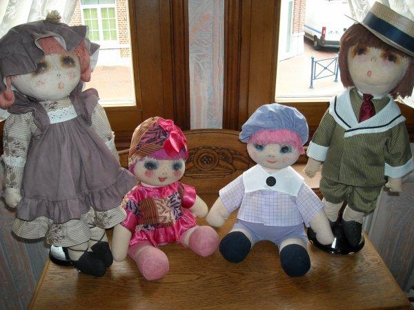 """en réponse à Poupéesland mais pas que...., voici ma famille """"Marie d'O"""""""
