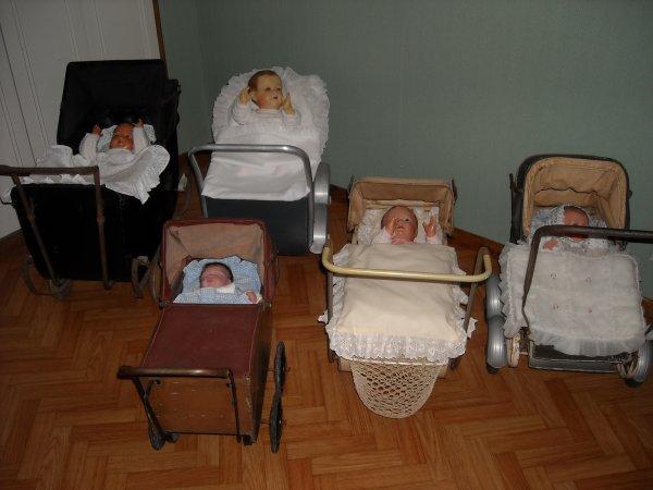 Les landaus de poupées....Pour Isa et Christine, mais pas que.........après viendront les poussettes.........