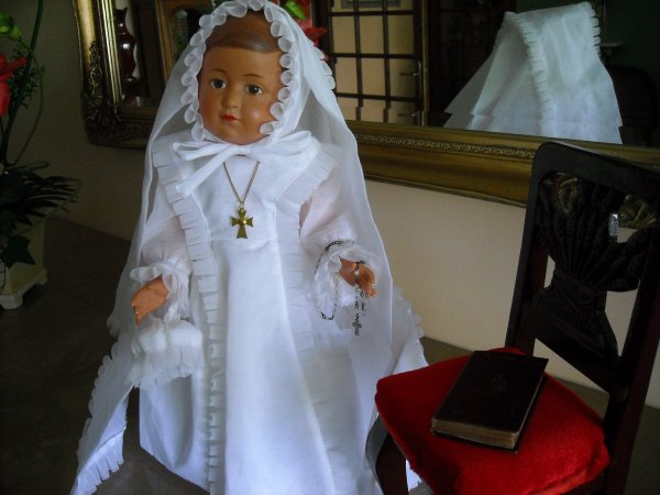 Communion de Françoise, Josette prépare le café pour remercier le Prêtre.