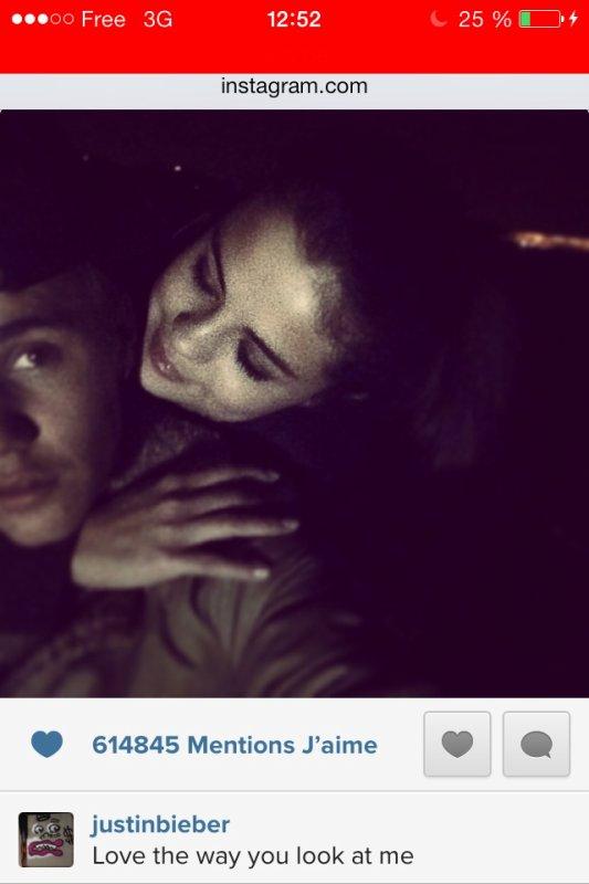 Selena et Justin , amoureux plus que jamais. ♥️