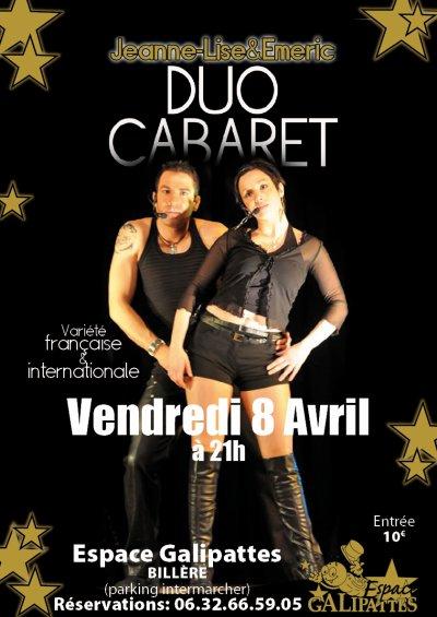 Sur scène le 8 Avril prochain!!!