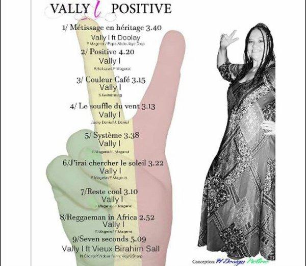 """album """"positive"""" 9 titres en vente, 7 euros"""