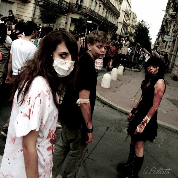 Zombie Walk Montpellier 2013