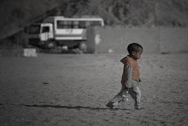 Un chagrin d'amour n'est rien à côté de ce que vivent ces enfants.