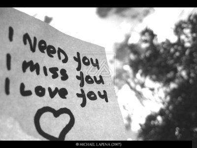 Tu me manques, et ça me tue.