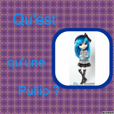 Qu'est qu'une Pullip ?