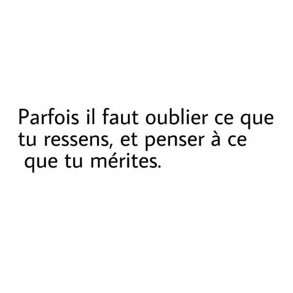 Parfois ....