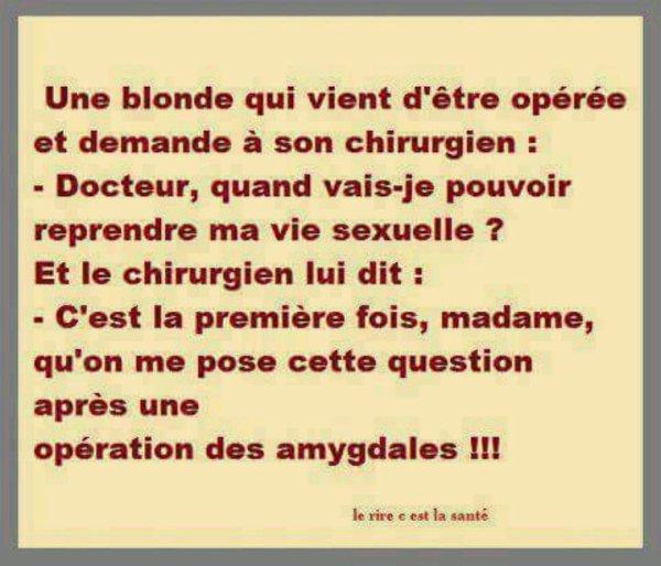 Les blondes ^^ mdr