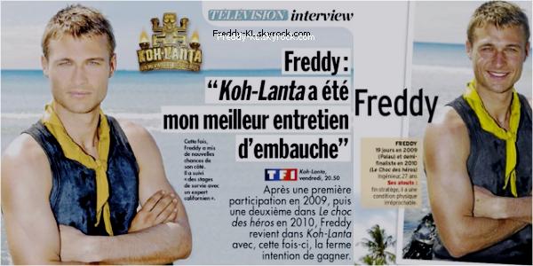 Apparitions de Freddy dans Closer et Télé 7jours || + épisode du 06/04/2012