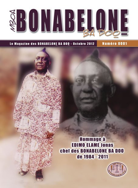 "La UNE ""MBOA BONABELONE BA DOO"" la magazine de mon village BONABELONE"