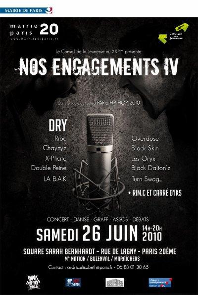 Iks-Tape Paris Hip Hop 2010 du Carré D'Iks...