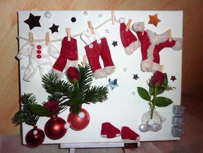 avant le jour J le père Noël fait sa lessive !
