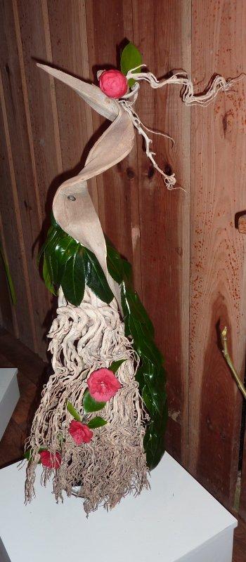 L'oiseau ...aux camélias !